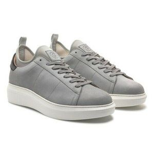 Greats The Alta Leather Casual Sneakers Gray 7.5